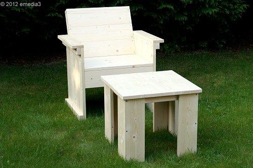Gartenlounge holz bauen  Gartenlounge-Tische - Bauanleitungen | HolzLand